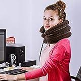 Beisoug Migliore Regalo di San Valentino Espanso per Il Dolore al Collo Collo del Cuscino cervicale Cuscino di Sostegno per trazione cervicale