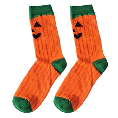 Legendog Halloween-Socken-Mode-Nette Karikatur-atmungsaktive Baumwollsocken-Mannschafts-Socken für Männer