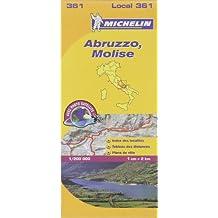 Carte Abruzzes, Molise Michelin