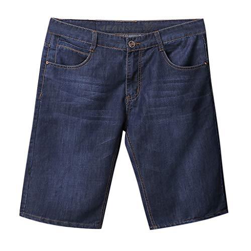Herren Sommer Jeans Herren Shorts Skateboard Harem Fashion Jean Plus Größe mit UD Sturmfeuerzeug -
