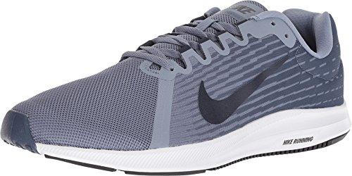 Nike Herren Downshifter 8 Sneakers, Mehrfarbig (Ashen Slate/Obsidian/Diffused Blue/Black 001), 42.5 EU