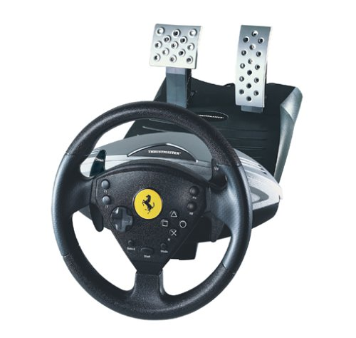 Thrustmaster Modena 360 Racing Ferrari Wheel AN. Sony Playstation II Lenkrad