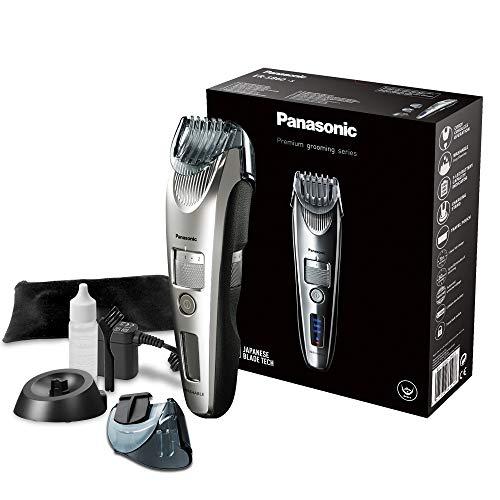 Panasonic Premium Bartschneider ER-SB60, 19 Längeneinstellungen, Barttrimmer 0,5-10 mm, Trimmer für Herren, mit Ladestation
