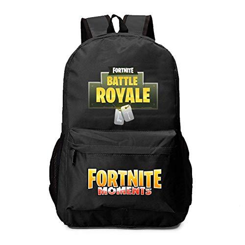 Fort Battle Royale Backpack Daypack Shoulder Bag Laptop Bag, Unisex Fa