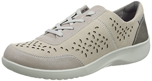 Rockport - Emalyn, Scarpe da ginnastica Donna Grey (metallic)