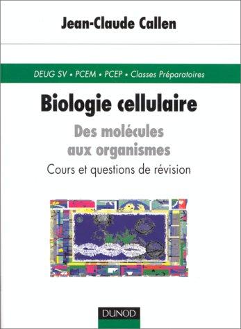Biologie cellulaire, premier cycle