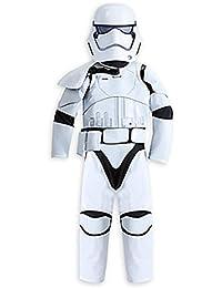 87866914f2ba25 Disney Boys Star Wars The Force Awakens Deluxe Stormtrooper Costume Size 7 8