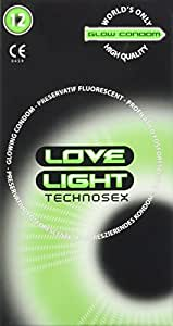 Love Light Glow Kondom 12er Kondome fluoreszierend 1er Pack(1 x 12 Stück)