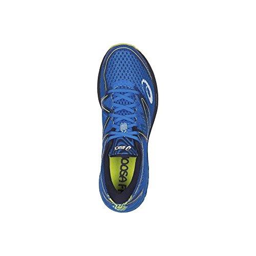Asics Noosa Ff, Scarpe da Ginnastica Uomo Blu (Electric Blue/Peacoat/Energy Green)