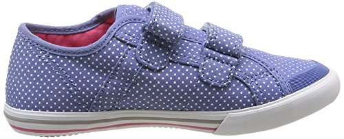 Le Coq Sportif Saint Malo Dots Ps Strap, Baskets mode mixte enfant Bleu (Navy Washed)