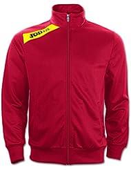 Joma - Chaqueta poly-tricot victory rojo-amarillo para hombre