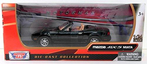 1-24-scale-73262g-mazda-mx5-roadster-mk1-miata-eunos-green-model-car