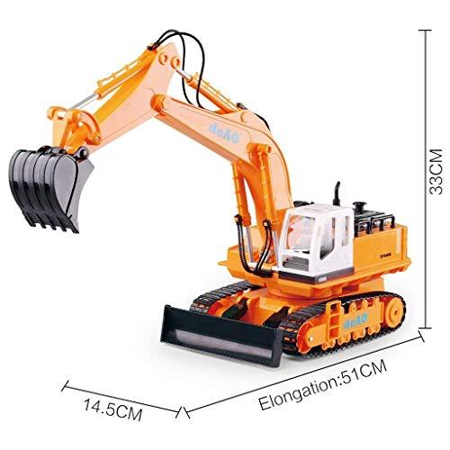 RC Auto kaufen Baufahrzeug Bild 6: deAO 6 Kanal Fernsteuerung Baubagger Bagger Bulldozer Truck mit Licht und Sounds*