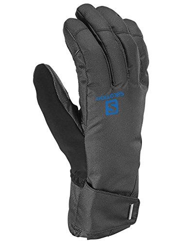 Salomon Herren Handschuhe Element M, Black/Union Blue, XL, L37599500