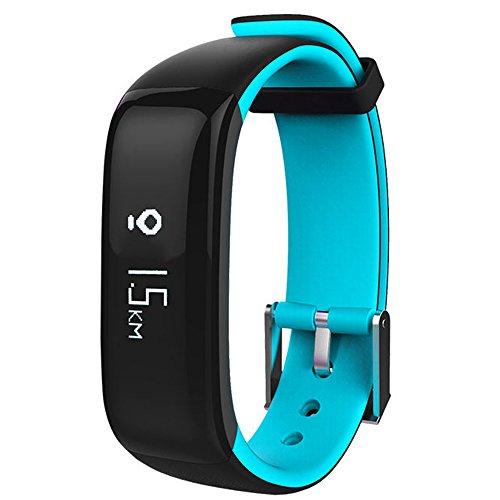 Intelligente Bracciale, CulturesIn frequenza cardiaca pressione sanguigna Fase Movimento Bracciale impermeabile intelligente Passo Bluetooth Wristband (Mantenere Pressione Sanguigna)