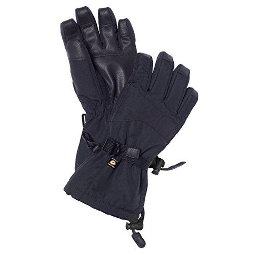 Isbjörn of Sweden Snow Ski Glove, 5-6 Jahre (110/116 Kinder), black Black Snow Glove