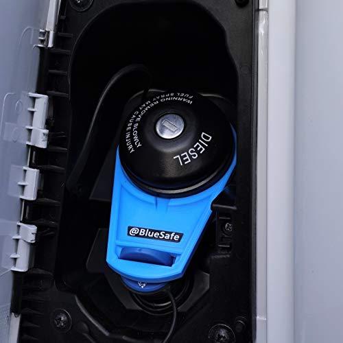 AdBlue Deckel Sicherung Tanksicherung für Tankverschluss Tankdeckel (Typ Citroen Jumper, AdBlueSafe Blau)