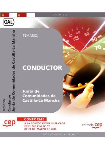 Conductor. Junta de Comunidades de Castilla-La Mancha. Temario (Colección 370) por Sin datos