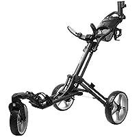 INCONTRO Golf Push - Carrito de Golf, Triciclo Plegable con Rueda Delantera giratoria