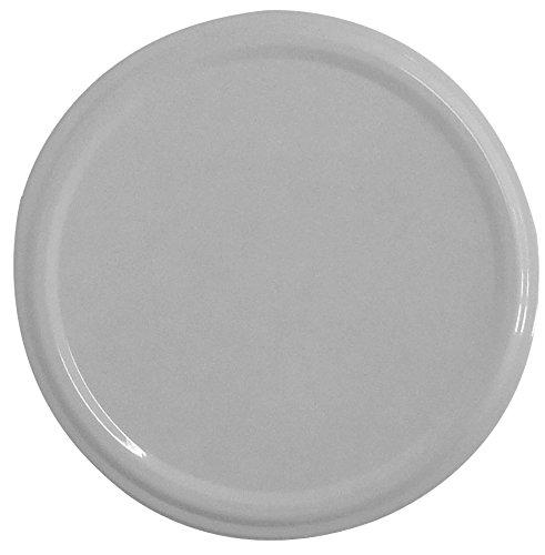 Twist-Off-Deckel TO82, Schraubdeckel Ø 82mm, Deckel für Gläser, Farbe: Weiß