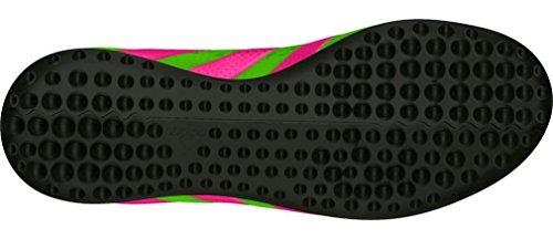 adidas - Ace 16.3 Tf J, Scarpe da calcio Unisex – Bimbi 0-24 Verde / rosa / nero (Versol / Rosimp / Negbas)