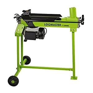 """Logmaster High Powered 2200W 7 Ton Hydraulic Electric Log Splitter Machine with Stand, Cuts Timber Up to 520mm / 20.5"""""""