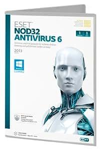 Eset NOD32 Antivirus v6 1PC DVD