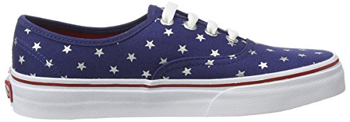 Vans U Authentic Studded Stars, Baskets Basses Mixte Adulte Multicolore ((studded Stars) Red/blue)