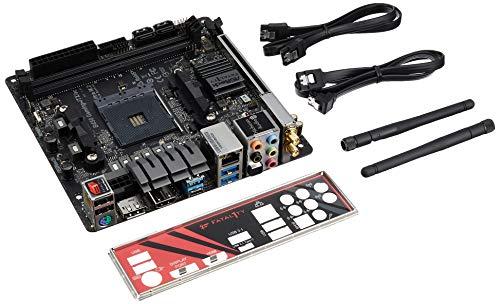 MB ASRock B450 Gaming-ITX/ac AM4 M-ITX HDMI/DP DDR4 Retail - AMD Sockel AM4 (Ryzen) - ITX, B450 Gaming-ITX/AC -
