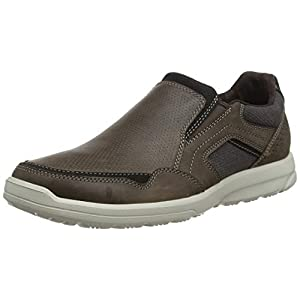 Rockport Herren Welker Casual Slip-on Slipper, braun