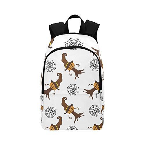 (Spinnennetz und Halloween Urlaub lässig Daypack Reisetasche College School Rucksack für Männer und Frauen)