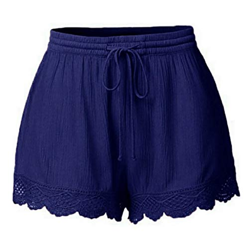 Luckycat Pantalones Cortos de Suelto para Mujer Talla Grande Leggings de Deportes...