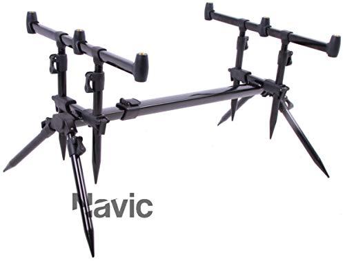 Navic Convertible Rod Pod + Top Modell 2019 für 3 Ruten 3 Rod Pod