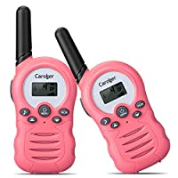 Caroger 8 Channel Twin Walkie Talkies Two Way Radio Handheld Interphone Up to 3300 Meters/2 Miles Range