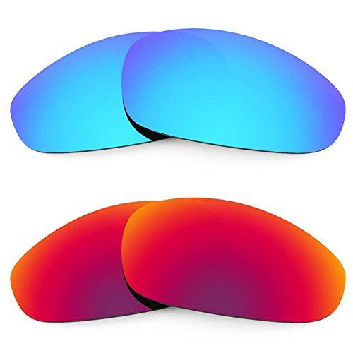 Revant Ersatzlinsen für Oakley Juliet Polarisiert 2 Paar Kombipack K005