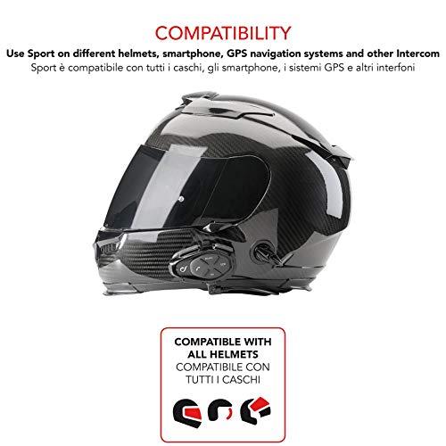Zoom IMG-3 cellularline interphosporttp interfono sport bluetooth