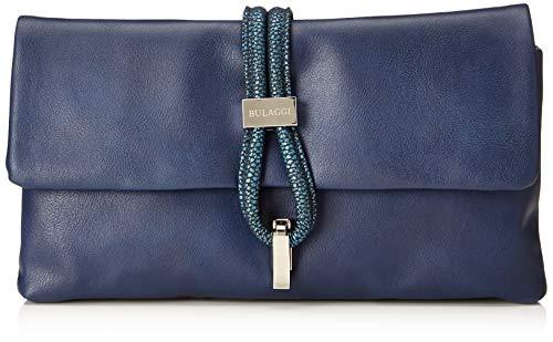 Bulaggi Damen Bibis Clutch, Blau (Dunkel Blau), 14x3x28 cm