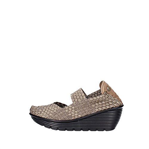 Pregunta PCAKELLY-002 Sneakers Donna Elasticizzato Bronzo Bronzo 35