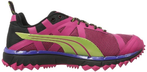 Puma Faas 500 TR Wn's 304597 Damen Laufschuhe Pink (beetroot purple-black-sunny lime 04)
