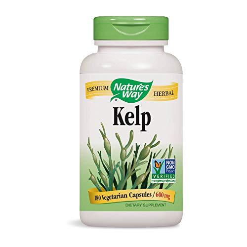 Nature's Way | Kelp | 600 mg | 180 Veggie-Kapseln | Algen -