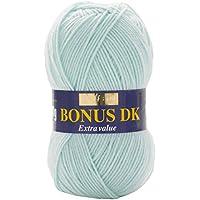 Hayfield - Lana de Tejido Doble Bonus DK (100 g), Hilo, Ice Blue, 19 x 9 x 9 cm