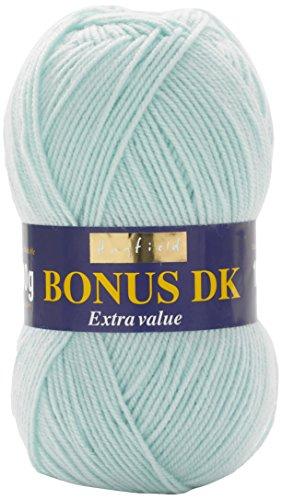 Hayfield - Bonus Dk per Lavoro a Maglia - 100 g, Filato, Ice Blue, 19 x 9 x  9 cm