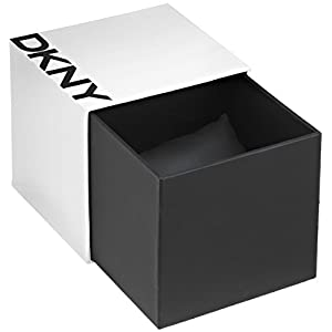 DKNY (DNKY5) Women's Quartz Watch with White Dial Analogue Display and White Stainless Steel Bracelet NY4914