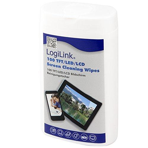 logilink-rp0010-pack-de-100-lingettes-nettoyants-pour-ecran-tft-lcd-85-x-120-mm