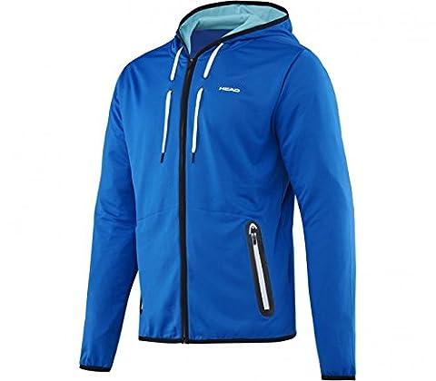 HEAD Herren Sweatshirt Vision M AMIR Tech Hoody, Blau, S, 811316