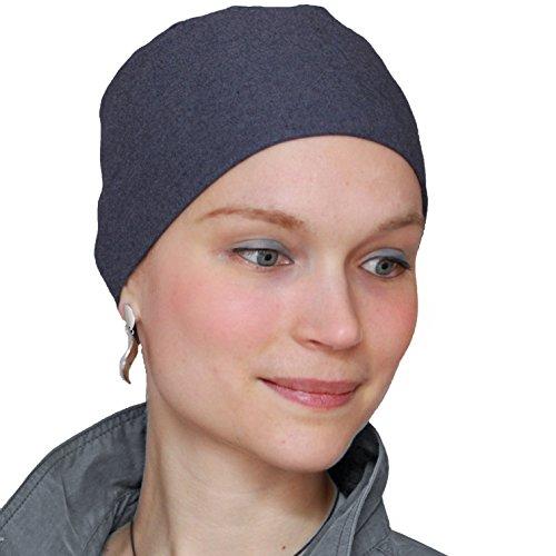 Lee Mütze für Tag und Nacht im hypoallergenisches Baumwolle - Jeansblau