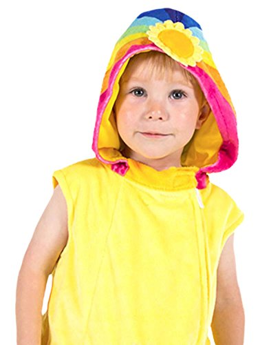 Mickey Kostüm Cute Und Minnie - erdbeerloft - Unisex - Kinder Wolkenkind Kleid Kostüm Karneval, Gelb, Größe 92-98, 2-3 Jahre