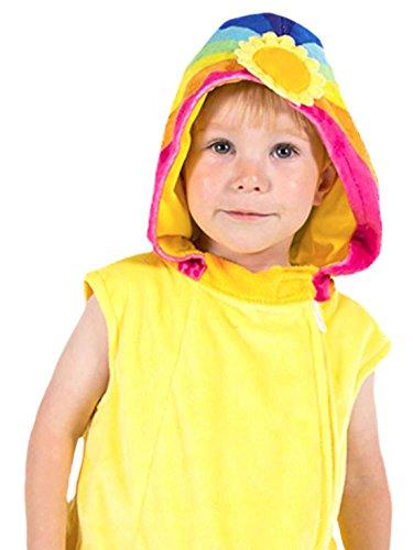 Halloweenia - Kinder Wolkenkind Kleid Kostüm Karneval, Gelb, Größe 80-86, 12-18 (Kostüm 1218 Monate)