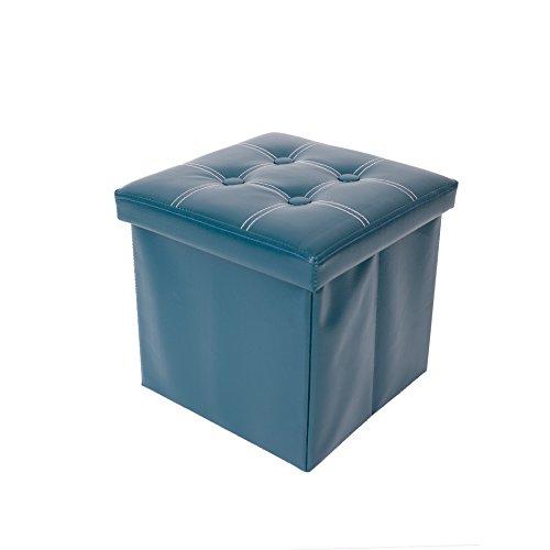 Mobili Rebecca® Puff para almacenar Taburete Asiento Reposapiés con