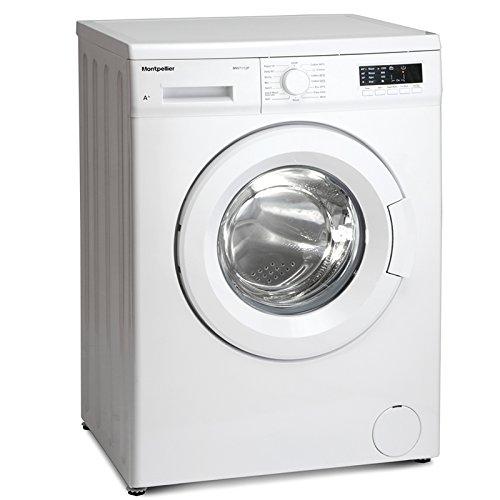 Montpellier MW7112P 7kg 1200 Spin Washing Machine in white